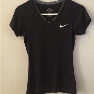 Nike Pro Black Shirt